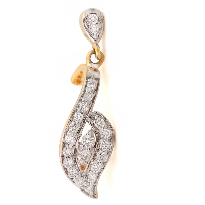 Diamond Earring In Solid Gold