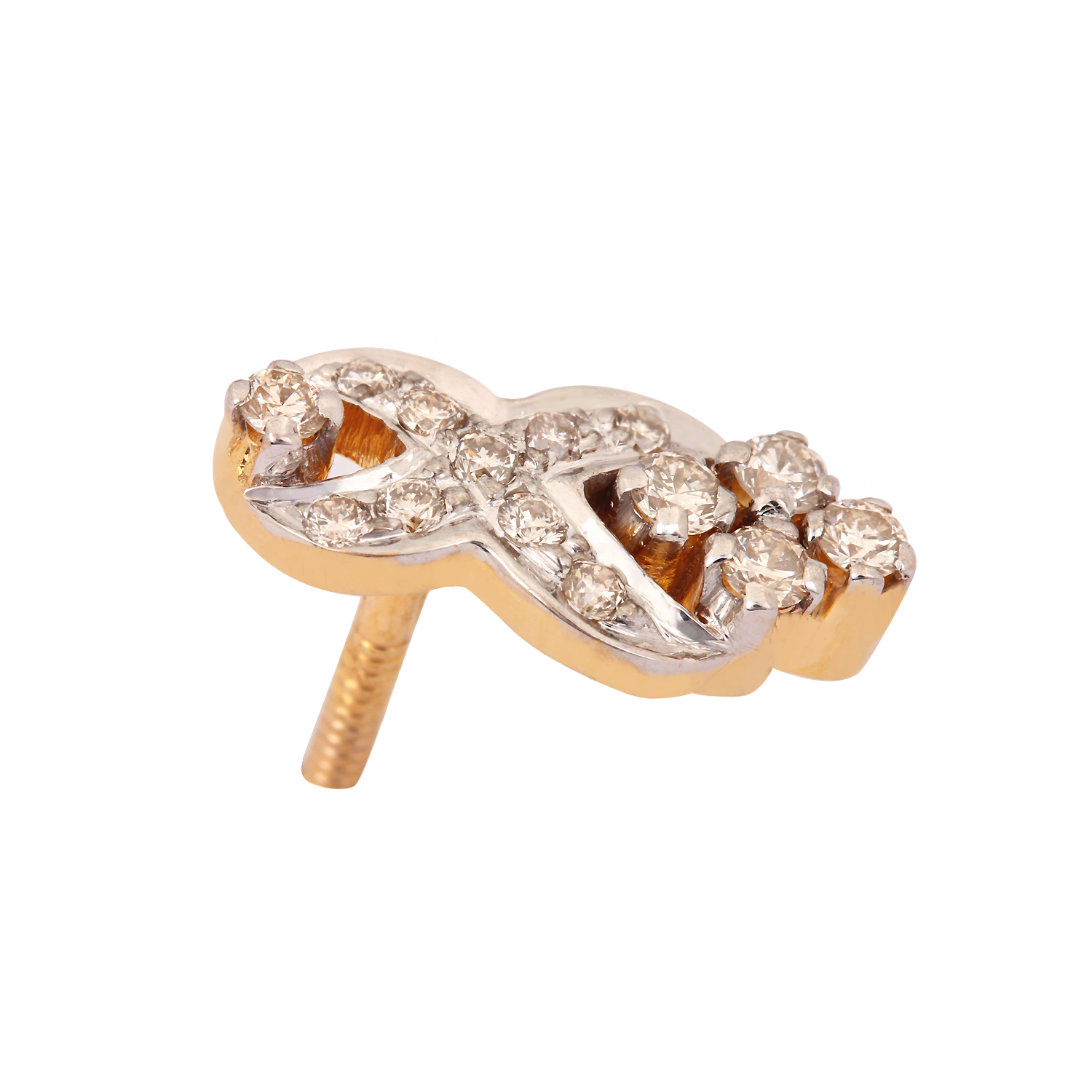Beautiful Solid Gold Earring