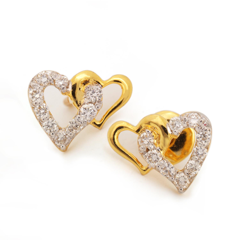 Heart shaped Earring