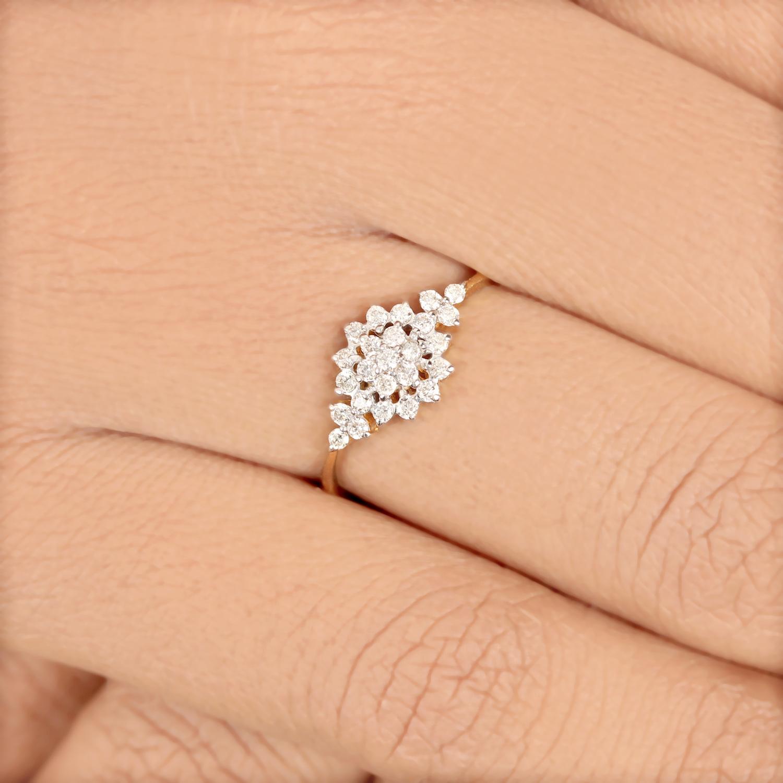 Flower Design Ring