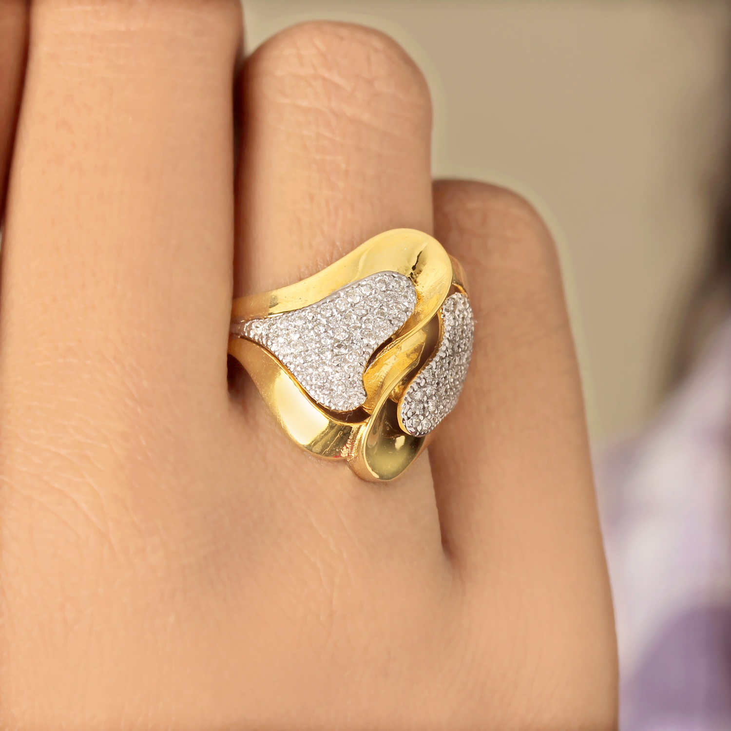 Unique Designed Ring For Women