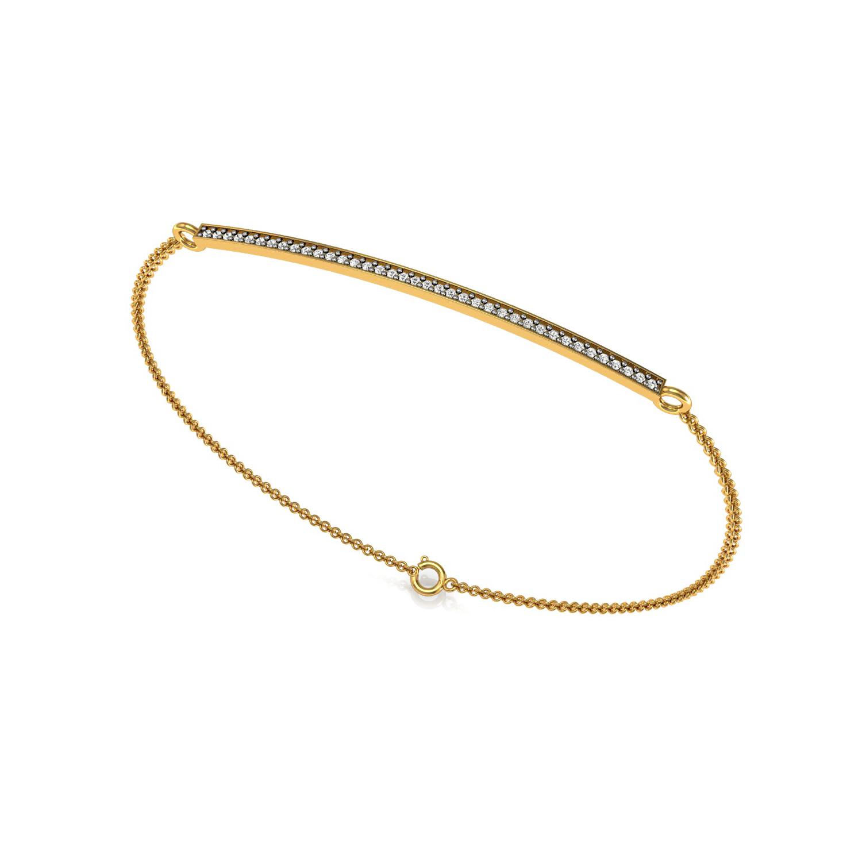 Beautiful Bracelet With Diamond Ball