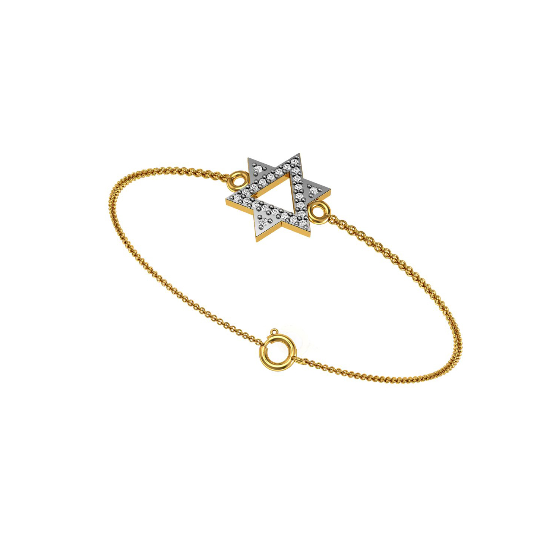Diamond & Emerald Bracelet in Oval Design