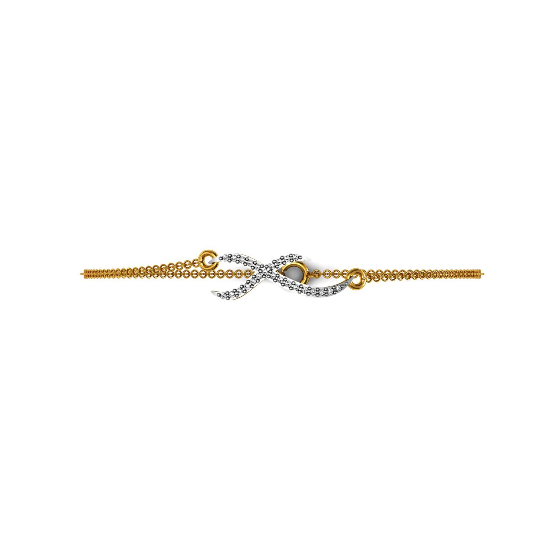 Love Bracelet with Diamond in Gold