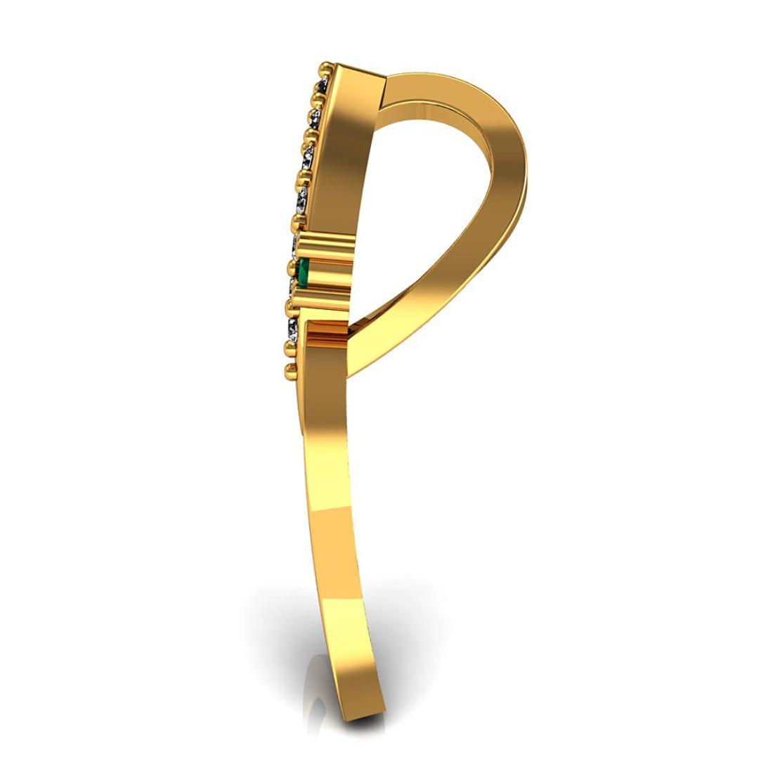 Diamond Pendant in Gold