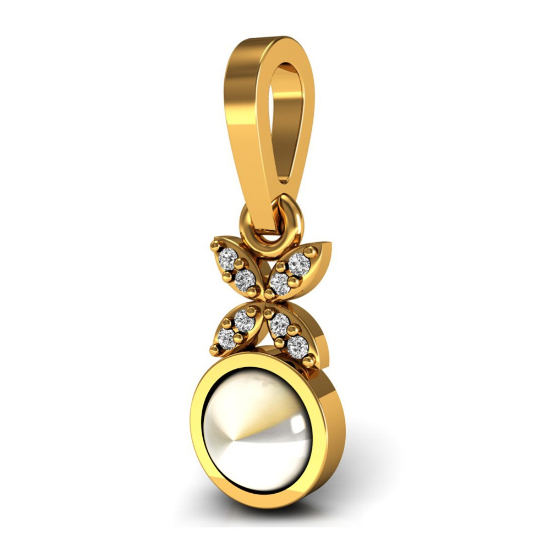 Attractive Diamond Pendant